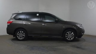 2016 Nissan Pathfinder R52 MY15 ST (4x2) Grey Continuous Variable Wagon