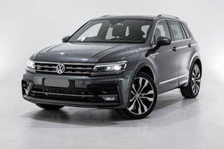 2019 Volkswagen Tiguan 5N MY19.5 162TSI DSG 4MOTION Highline Grey 7 Speed.