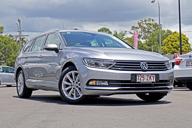 Used Volkswagen Passat 3C (B8) MY18 132TSI DSG Comfortline, 2018 Volkswagen Passat 3C (B8) MY18 132TSI DSG Comfortline Silver 7 Speed