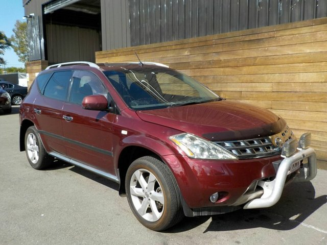 Used Nissan Murano Z50 TI-L, 2007 Nissan Murano Z50 TI-L Maroon 6 Speed Constant Variable Wagon