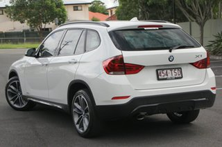2013 BMW X1 E84 LCI sDrive18d Steptronic White 8 Speed Sports Automatic Wagon.