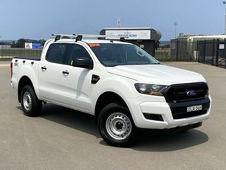2016 Ford Ranger PX MkII XL Double Cab White 6 Speed Sports Automatic Utility