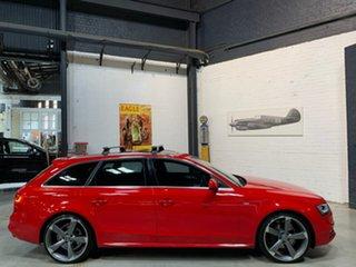 2014 Audi A4 B8 8K MY15 S Line Avant S Tronic Quattro Red 7 Speed Sports Automatic Dual Clutch Wagon.