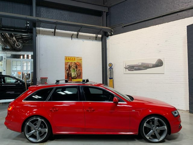 Used Audi A4 B8 8K MY15 S Line Avant S Tronic Quattro, 2014 Audi A4 B8 8K MY15 S Line Avant S Tronic Quattro Red 7 Speed Sports Automatic Dual Clutch Wagon