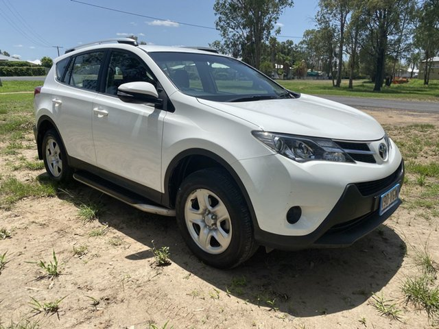 Used Toyota RAV4 ZSA42R MY14 Upgrade GX (2WD), 2015 Toyota RAV4 ZSA42R MY14 Upgrade GX (2WD) Glacier White Continuous Variable Wagon