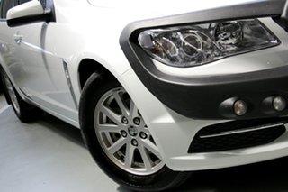2014 Holden Commodore VF MY14 Evoke Heron White 6 Speed Sports Automatic Sedan.