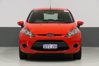 2013 Ford Fiesta WT CL Red 6 Speed Automatic Hatchback.