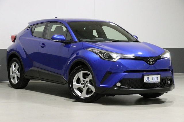 Used Toyota C-HR NGX10R Update (2WD), 2018 Toyota C-HR NGX10R Update (2WD) Blue Continuous Variable Wagon