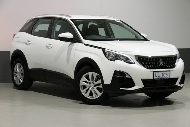 Used Peugeot 3008 P84 MY18.5 Active, 2018 Peugeot 3008 P84 MY18.5 Active White 6 Speed Automatic Wagon