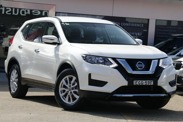 Used Nissan X-Trail T32 Series 2 ST (4WD), 2018 Nissan X-Trail T32 Series 2 ST (4WD) Pearl White Continuous Variable Wagon