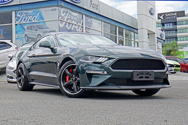 Used Ford Mustang FN 2019MY BULLITT Fastback RWD, 2018 Ford Mustang FN 2019MY BULLITT Fastback RWD Green 6 Speed Manual Fastback