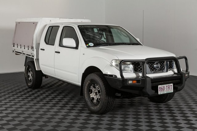 Used Nissan Navara D40 S8 RX, 2013 Nissan Navara D40 S8 RX White 5 speed Automatic Cab Chassis