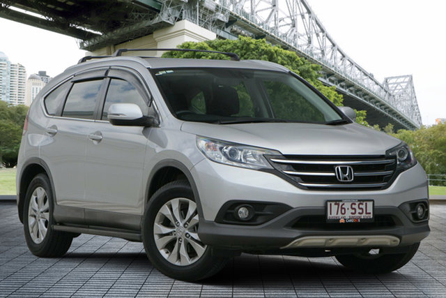 Used Honda CR-V RM VTi-S 4WD, 2012 Honda CR-V RM VTi-S 4WD Silver 5 Speed Automatic Wagon