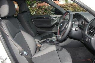 2013 BMW X1 E84 LCI sDrive18d Steptronic White 8 Speed Sports Automatic Wagon