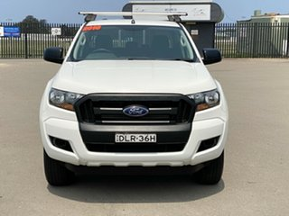 2016 Ford Ranger PX MkII XL Double Cab White 6 Speed Sports Automatic Utility.