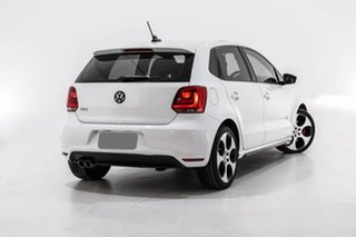 2012 Volkswagen Polo 6R MY12.5 GTI DSG White 7 Speed Sports Automatic Dual Clutch Hatchback.