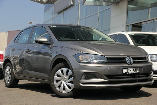 Demo Volkswagen Polo AW MY19 70TSI DSG Trendline, 2018 Volkswagen Polo AW MY19 70TSI DSG Trendline Limestone Grey 7 Speed Sports Automatic Dual Clutch