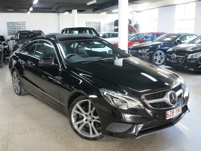 Used Mercedes-Benz E-Class C207 805MY E250 7G-Tronic +, 2014 Mercedes-Benz E-Class C207 805MY E250 7G-Tronic + Black 7 Speed Sports Automatic Coupe