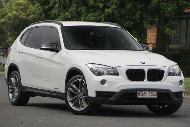 Used BMW X1 E84 LCI sDrive18d Steptronic, 2013 BMW X1 E84 LCI sDrive18d Steptronic White 8 Speed Sports Automatic Wagon