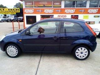 2005 Ford Fiesta WP LX Blue 5 Speed Manual Hatchback.