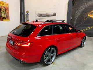 2014 Audi A4 B8 8K MY15 S Line Avant S Tronic Quattro Red 7 Speed Sports Automatic Dual Clutch Wagon