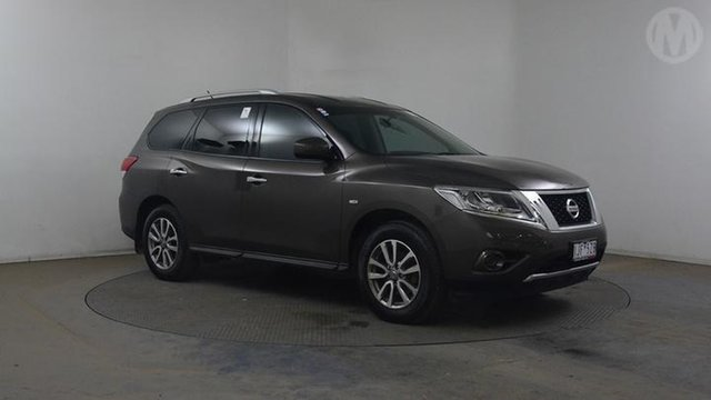 Used Nissan Pathfinder R52 MY15 ST (4x2), 2016 Nissan Pathfinder R52 MY15 ST (4x2) Grey Continuous Variable Wagon