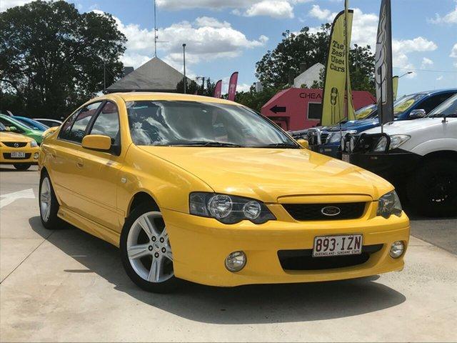 Used Ford Falcon BA Mk II XR6, 2005 Ford Falcon BA Mk II XR6 Yellow 4 Speed Sports Automatic Sedan