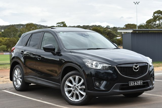 Used Mazda CX-5 KE1031 MY14 Akera SKYACTIV-Drive AWD, 2014 Mazda CX-5 KE1031 MY14 Akera SKYACTIV-Drive AWD Black 6 Speed Sports Automatic Wagon