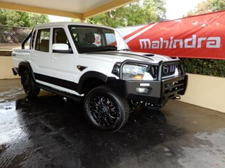 2019 Mahindra Pik-Up S10 Black Mhawk 4WD Limited Edit. White 6 Speed Manual Dual Cab Utility.