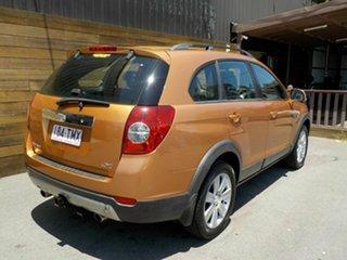 2007 Holden Captiva CG LX AWD Orange 5 Speed Sports Automatic Wagon.