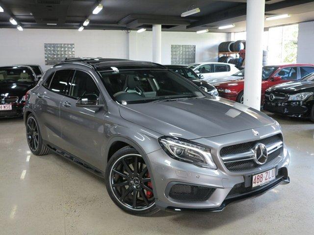 Used Mercedes-Benz GLA-Class X156 807MY GLA45 AMG SPEEDSHIFT DCT 4MATIC, 2016 Mercedes-Benz GLA-Class X156 807MY GLA45 AMG SPEEDSHIFT DCT 4MATIC Grey 7 Speed