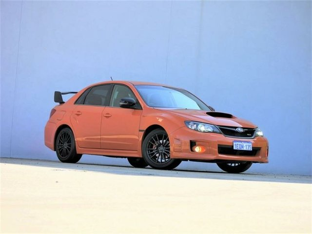 Used Subaru Impreza  WRX Club Spec, 2012 Subaru Impreza G3 WRX Club Spec Orange Manual Sedan