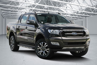 2018 Ford Ranger PX MkII MY18 Wildtrak 3.2 (4x4) Shadow Black 6 Speed Automatic Dual Cab Pick-up.