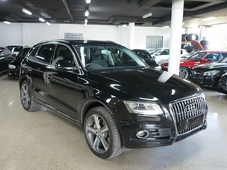 2015 Audi Q5 8R MY15 TDI S Tronic Quattro Black 7 Speed Sports Automatic Dual Clutch Wagon.