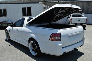 2012 Holden Commodore VE II MY12 SV6 Thunder White 6 Speed Manual Utility