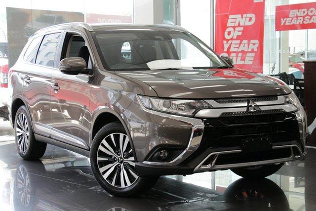 Demo Mitsubishi Outlander ZL MY19 LS 2WD, 2019 Mitsubishi Outlander ZL MY19 LS 2WD Ironbark 6 Speed Constant Variable Wagon