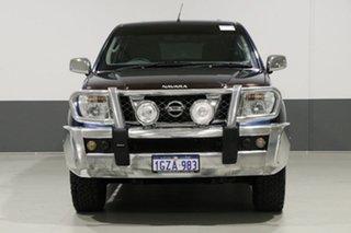 2006 Nissan Navara D40 ST-X (4x4) Blue 6 Speed Manual Dual Cab Pick-up.