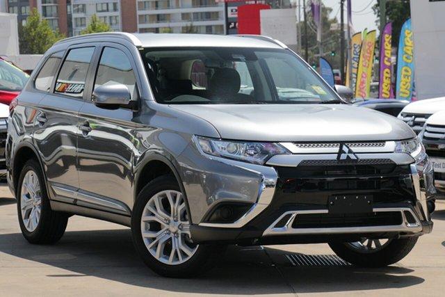 New Mitsubishi Outlander ZL MY20 ES 7 Seat (2WD), 2020 Mitsubishi Outlander ZL MY20 ES 7 Seat (2WD) Titanium Continuous Variable Wagon