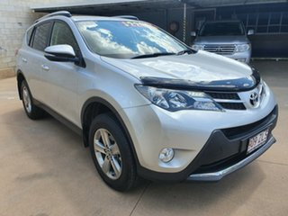 2014 Toyota RAV4 ZSA42R GXL (2WD) Silver Continuous Variable Wagon.