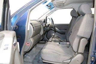 2006 Nissan Navara D40 ST-X (4x4) Blue 6 Speed Manual Dual Cab Pick-up