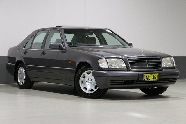 Used Mercedes-Benz S320 W140 , 1994 Mercedes-Benz S320 W140 Tektite Grey 4 Speed Automatic Sedan