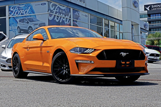 Used Ford Mustang FN 2018MY GT Fastback SelectShift, 2018 Ford Mustang FN 2018MY GT Fastback SelectShift Orange Fury 10 Speed Sports Automatic Fastback