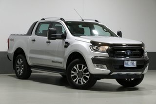 2017 Ford Ranger PX MkII MY17 Wildtrak 3.2 (4x4) Silver 6 Speed Automatic Dual Cab Pick-up.