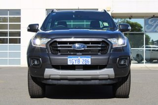 2019 Ford Ranger PX MkIII 2019.75MY Wildtrak Pick-up Double Cab Grey 10 Speed Sports Automatic.
