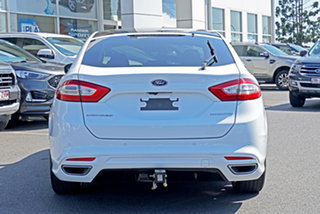 2018 Ford Mondeo MD 2018.25MY Titanium PwrShift White 6 Speed Sports Automatic Dual Clutch Hatchback