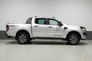 2017 Ford Ranger PX MkII MY17 Wildtrak 3.2 (4x4) Silver 6 Speed Automatic Dual Cab Pick-up