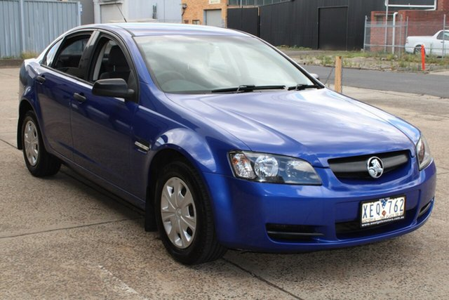 Used Holden Commodore VE Omega West Footscray, 2007 Holden Commodore VE Omega Blue 4 Speed Automatic Sedan