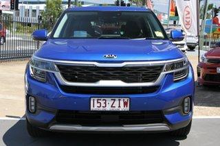 2019 Kia Seltos SP2 MY20 GT-Line DCT AWD Neptune Blue 7 Speed Sports Automatic Dual Clutch Wagon.
