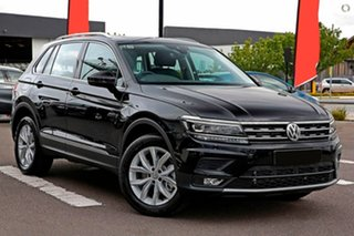 2019 Volkswagen Tiguan 5N MY20 110TSI DSG 2WD Comfortline Black 6 Speed Sports Automatic Dual Clutch.
