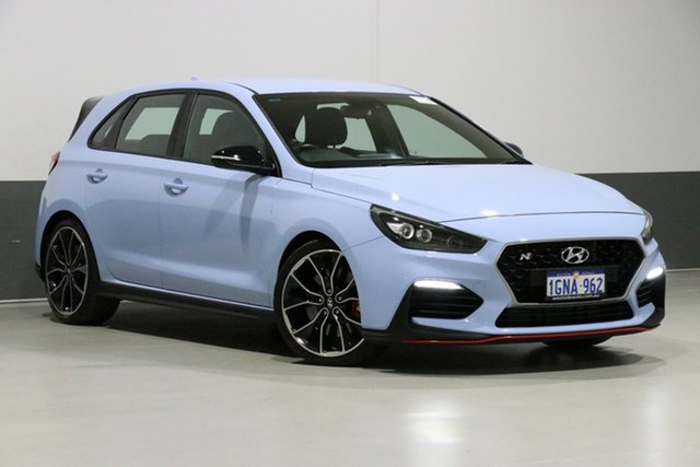 Used Hyundai i30 PDE N Performance, 2018 Hyundai i30 PDE N Performance Blue 6 Speed Manual Hatchback